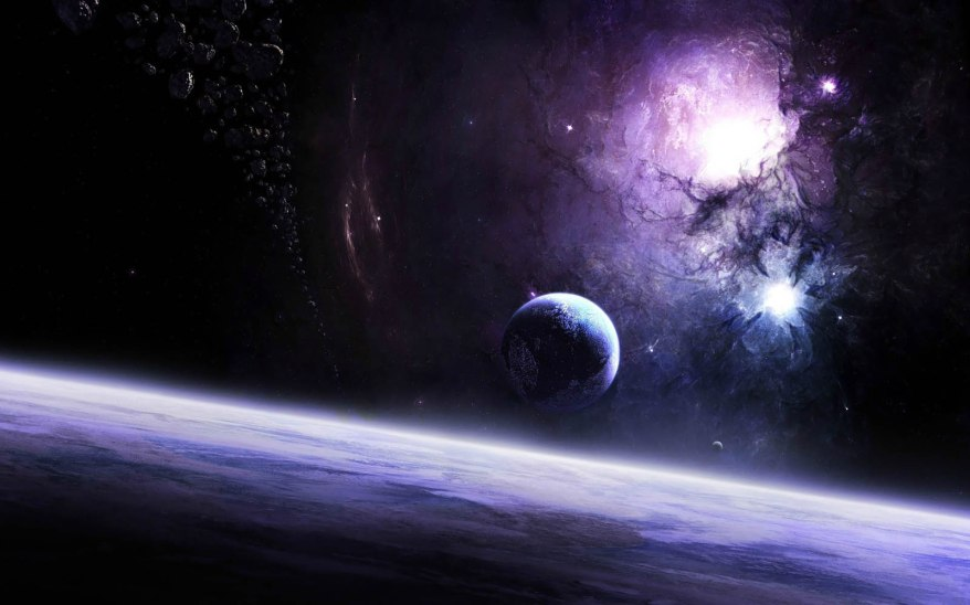 Planets In Space Wallpapers 04